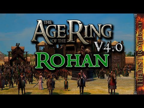 Age Of The Ring Mod V4.0 - A Look At Rohan