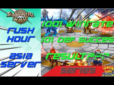 100% Winrate Summoners War Rush Hour Arena Indonesia 2018