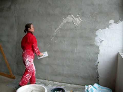 muurtje stuccen is simpel - youtube, Badkamer