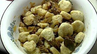 галушки полтавские рецепт с соусом бешамель