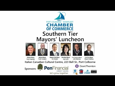 Port Colborne - Wainfleet Chamber of Commerce Southern Tier Mayors' Luncheon