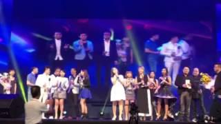 再见我的爱人 20151018朗嘎拉姆受邀在新加坡的演出。