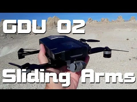GDU O2 Sliding Arm 4K Camera 3 Axis Gimbal Obstacle Avoidanc
