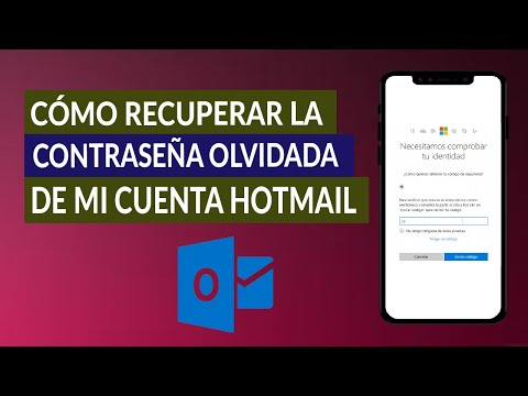 Cómo Recuperar la Contraseña Olvidada de mi Cuenta Hotmail - Fácil y Rápido