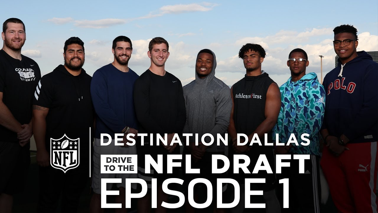 josh-rosen-derwin-james-2018-nfl-prospects-train-for-the-combine-drive-to-the-nfl-draft-ep-1