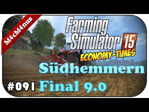 LS15 SÜDHEMMERN FINAL V9.0 #091 - Schutzgeld in der Videothek ★Let's Play Farming Simulator 15