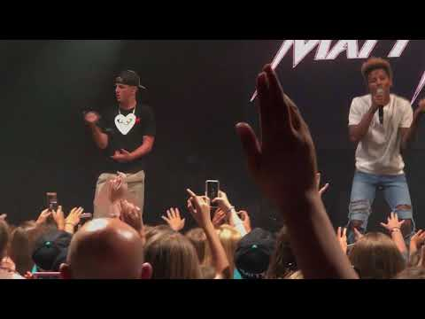 MattyB - Imma Be (Live in Boston)