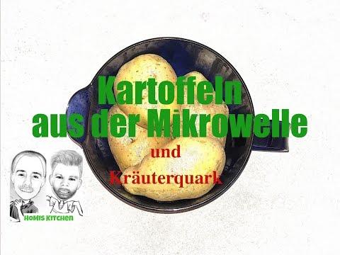 #MicroCook-Kanne: Kartoffeln Aus Der Mikrowelle Mit Kräuterquark