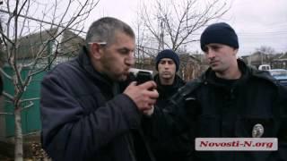 Видео Новости-N: В Николаеве пьяный водитель перевернул автоцистерну