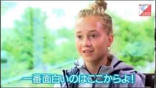 Елена Радионова на японском телевидении