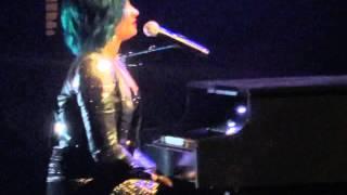Demi Lovato - Piano and Speech (Everett, WA)
