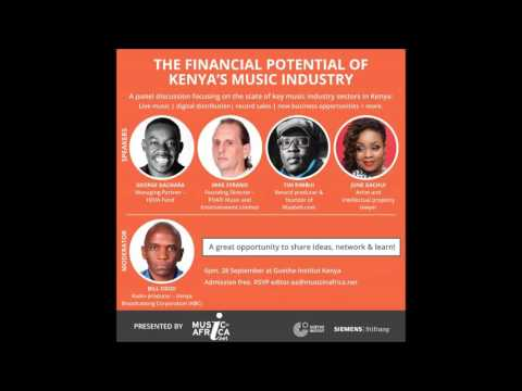 Music In Africa Forum: The Financial Potential Of Kenya's Music Industry