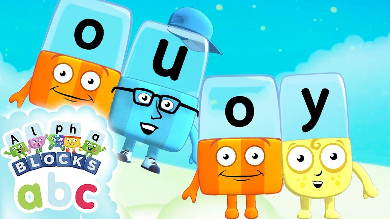 Download Alphablocks - Long Vowels: OU and OY! | Phonics | #HomeSchooling
