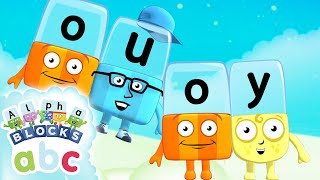 Learn to Read   Phonics for Kids   Long Vowels - OU and OY