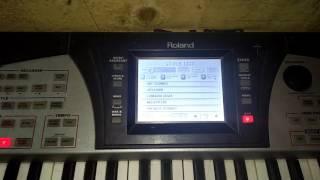 Style Dangdut To Roland E50.