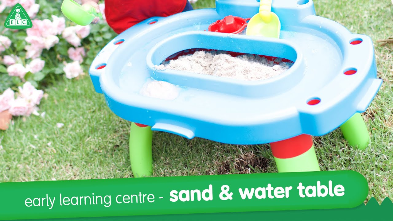Early Learning Centre My First Sand And Water Table