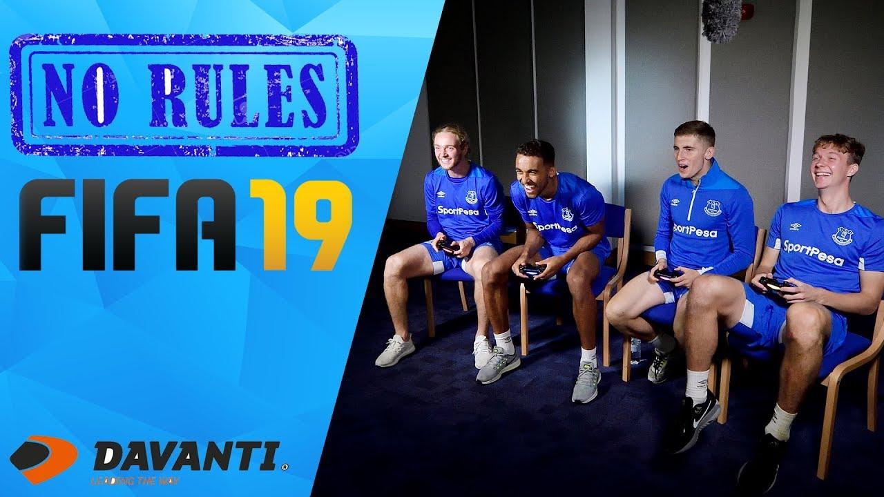 0d3711335bb WATCH: Blues Do Battle On No Rules FIFA 19   Everton Football Club