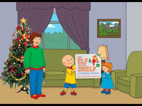 Caillou Gets Grounded On Christmas A Short AngryBirdman03 Movie