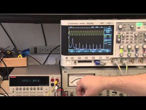Measuring Distortion with a HP 339A and a Keithley 2015 THD