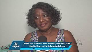 Lúcia Silva levou à Câmara, uma reflexão do Orgulho Negro no Dia da Consciência Negra
