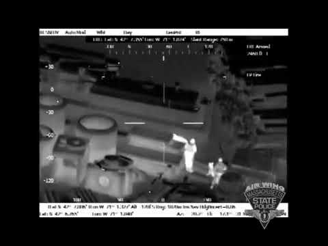 Massachusetts State Police use helicopter to locate man who allegedly broke into Holbrook home