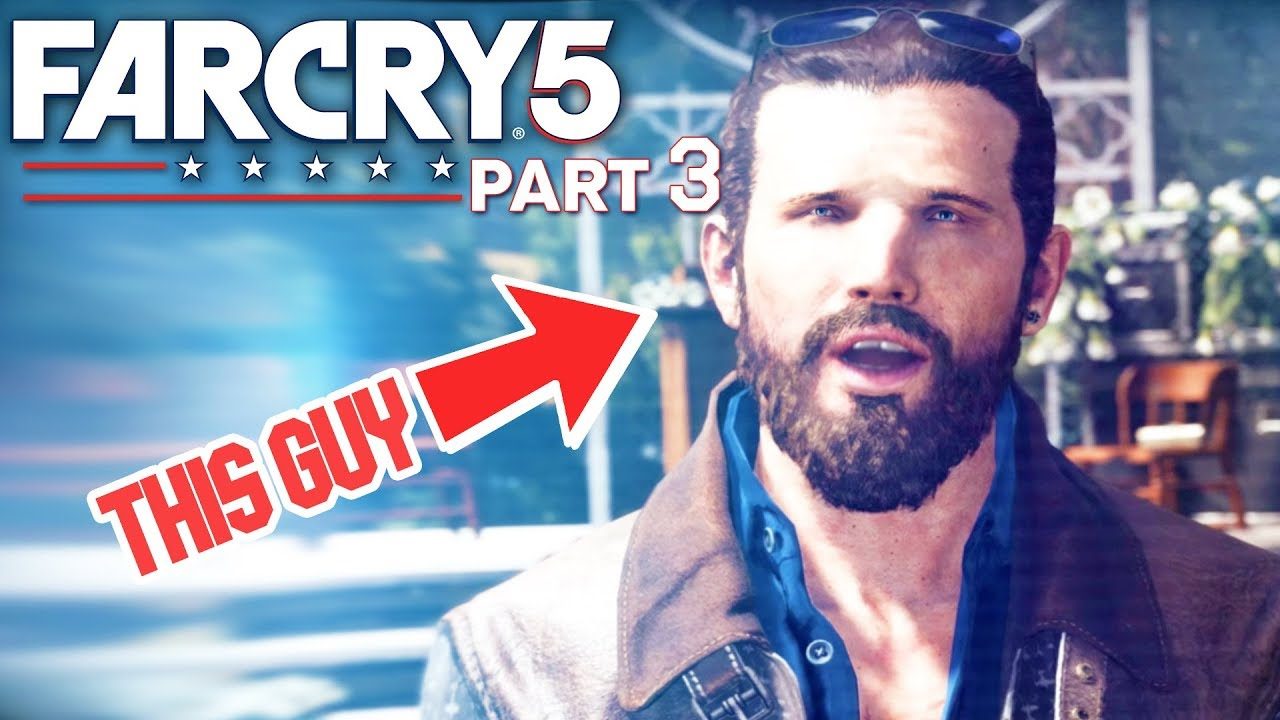 Far Cry 5 First Plane Encounter Saving The Town Part 3 Pc Far Cry Youtube