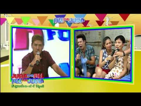 Juan For All Sugod bahay winner nakiramay kay Allan K super funny