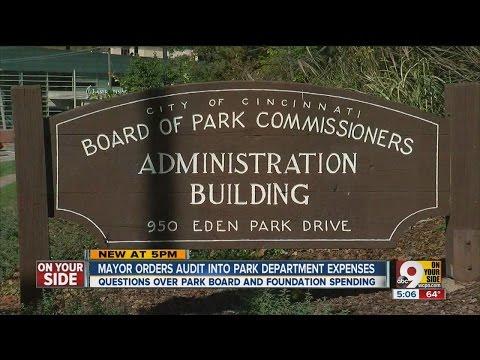 Mayor requests audit into Cincinnati Park Board spending of foundation funds