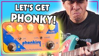 Tsakalis AudioWorks Phonkify: Envelope Filter - Wah - Octave pedal