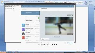 Как настроит telegram в сети Tas IX