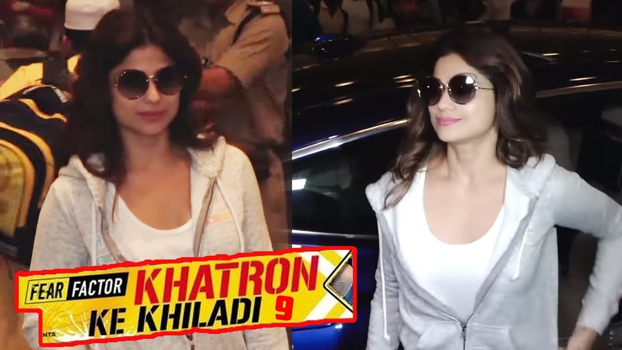 Image result for latest images of ridhima pandit and shamita shetty from khatron ke khiladi 9