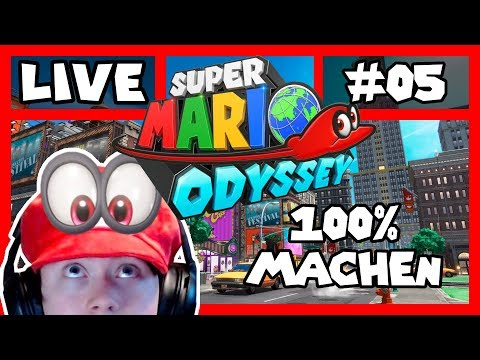 🔴 Monde Sammeln | German | Super Mario Odyssey | Nintendo Switch