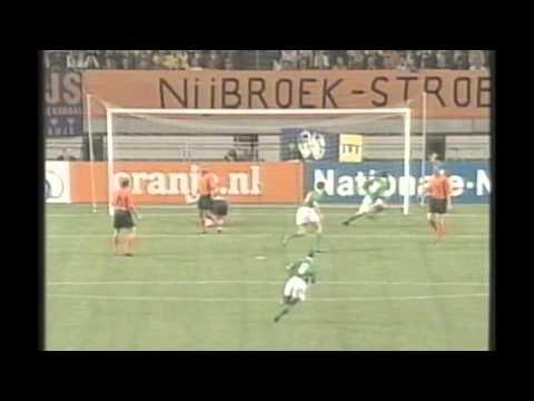 Holland 2 - 2 Ireland :: Sept 2000 :: World Cup 2002 Qualifier
