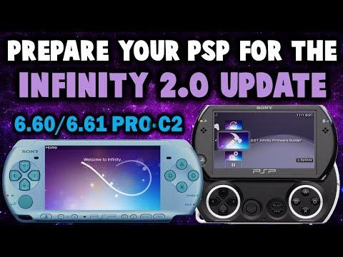 Preparing My PSP GO For Infinity 2.0 Update! (6.61 PRO C2)