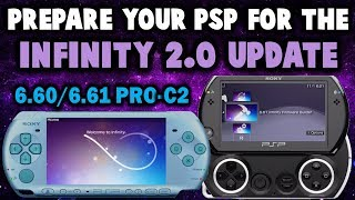 Preparing My PSP GO For Infinity 2.0 Update! (6.61 PRO C2)