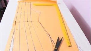 Annarkali Dress Cutting & Stitching In Tamil
