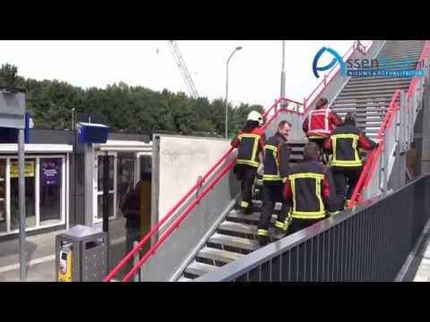 redding 6 personen uit lift station Assen