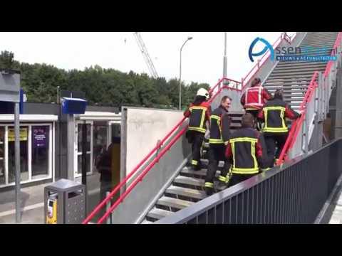 redding 6 personen uit lift station Assen