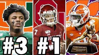 It's never too early to start talking about who can win the heisman trophy. today, i rank 10 players think have best chance ...
