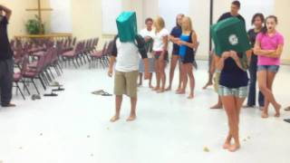One of the many games at youth group