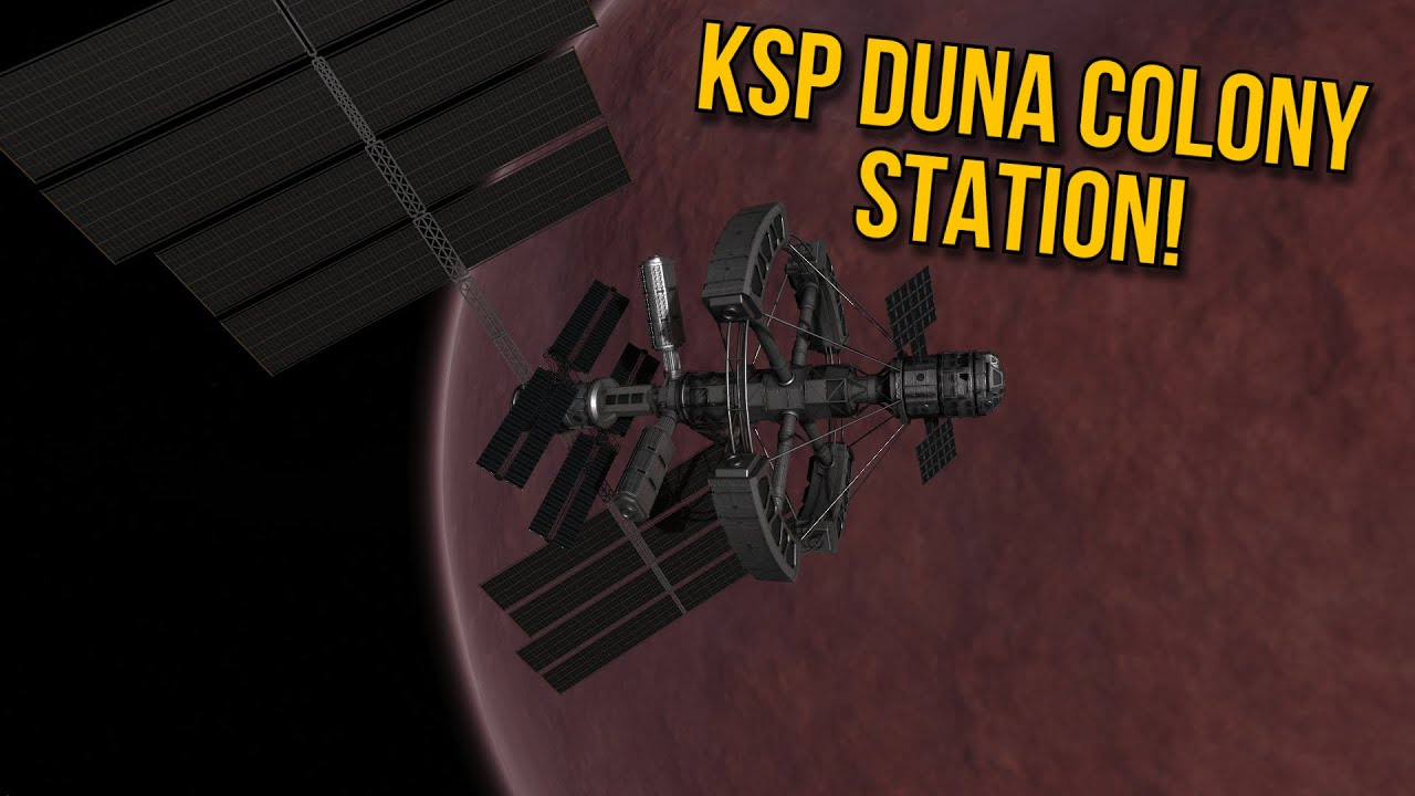 Download Kerbal Space Program - Building a Duna Colony Station in KSP!