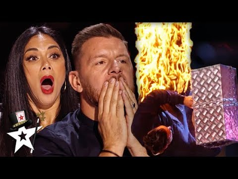 MOST DANGEROUS Audition Gets Out Of Control!! | Australia's Got Talent 2019 | Magicians Got Talent