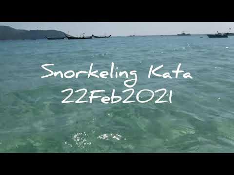 Snorkeling Kata Beach 22Feb2021 By Sky (Amici di Phuket)