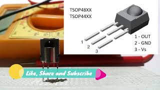 What is IR Receiver or TSOP | Application | Block Diagram | IR Receiver Testing