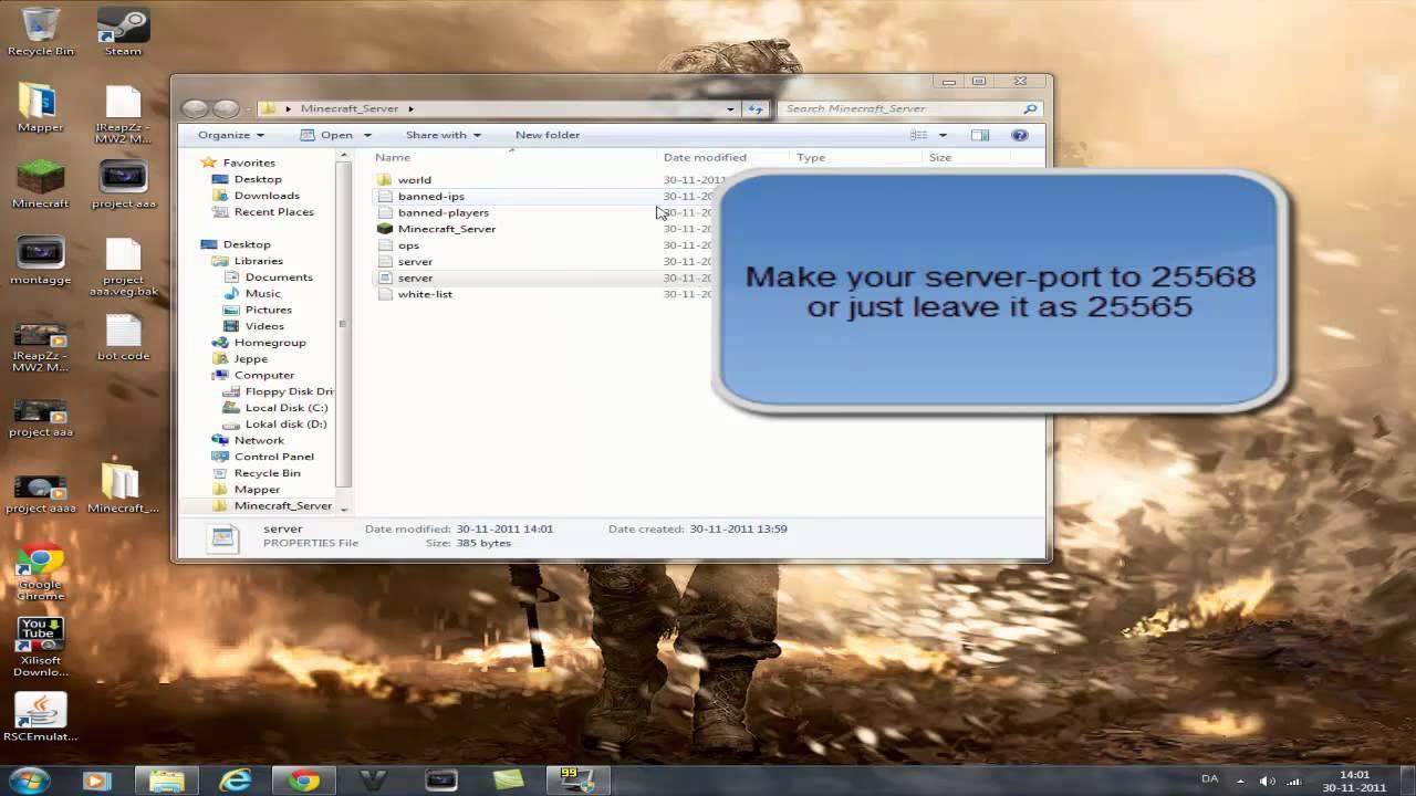 How To Make A Minecraft Server Lan Or Online YouTube - Minecraft server erstellen lan