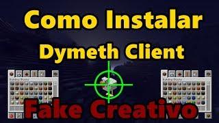 Minecraft: COMO INSTALAR DYMETH CLIENT 2.0