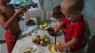 Яблочный пирог. ДЕТСКИЕ РЕЦЕПТЫ.   Совместный проект