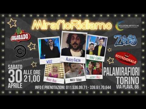 MIRAFIORIDIAMO Video 1 - serata di cabaret 30 aprile 2016 - Torino