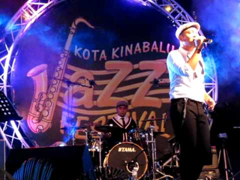 Aku Cinta Pada Mu Lucky Octavian @ KK Jazz Festival 2011