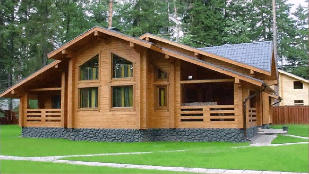 Superior American Style Wood House   YouTube